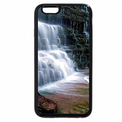 iPhone 6S Case, iPhone 6 Case (Black & White) - Albion Falls, Alberta, Canada
