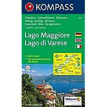 Lago Maggiore 90 GPS kompass D/I Lago di Varese