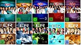 E.R. Emergency Room - Staffel 1+2+3+4+5+6+7+8+9+10 (1-10) / DVD Set