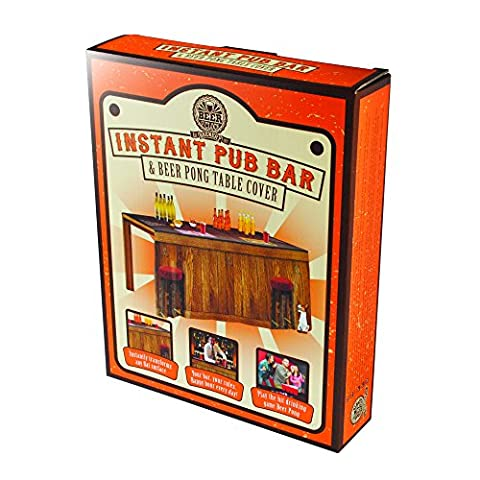 Instant Pub Bar & Beer Pong Table Cover
