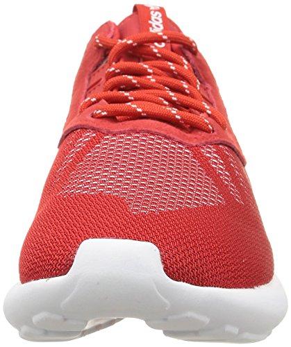 adidas Tubular Runner Weave, Baskets homme Rouge (Scarlet/Scarlet/White)