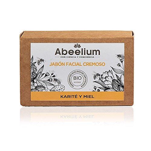 Abeelium | Creme Seife Gesichts Sheabutter und Honig | Reinigt und hydratisiert in der Tiefe - Natürliches und ökologisches Produkt...
