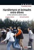 Harcèlement et brimades entre élèves - La face cachée de la violence scolaire