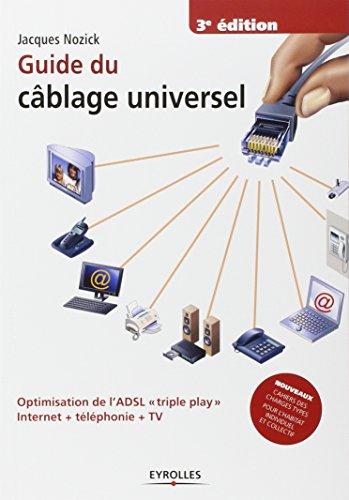 Guide du câblage universel: Optimisation de l'ADSL triple play Internet + téléphonie + TV