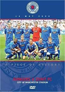 UEFA Cup Final 2008 Glasgow Rangers v FC Zenit  [DVD]