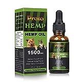 Best Dog Joint Supplements - ProtoHemp Hemp oil for Dogs 1500mg, Organic Hemp Review