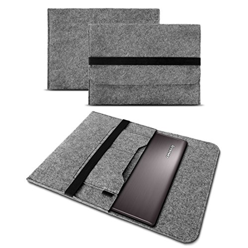 UC-Express Sleeve Hülle Lenovo ThinkPad X1 Carbon 2017/2018 14 Zoll Tasche Filz Notebook Cover Laptop Case, Farbe:Grau