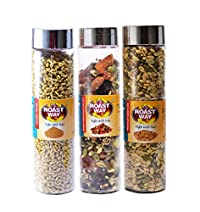 Roastway Foods Seeds Berries & Nuts and Jeggery Fennel(Mouth Freshner) and Premium Seeds Mix