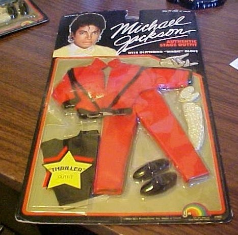 Michael Jackson 1984 Beat It Doll Stage OUTFIT - OUTFIT ONLY by MJJ (Michael Beat It Jackson Outfit)