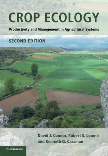 Crop Ecology por David J. Connor