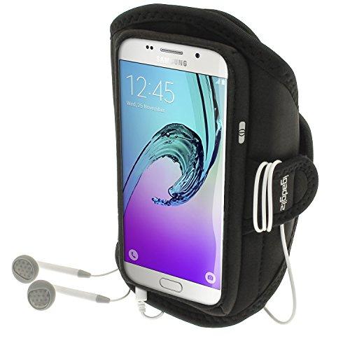 iGadgitz U4687, Sportarmband für Samsung Galaxy A5 SM-A510 2016 - schwarz