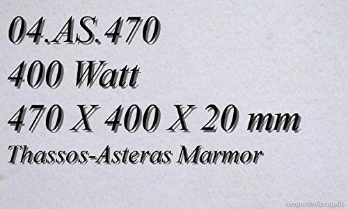 CALEFACCION POR INFRARROJOS–CALEFACTOR DE INFRARROJOS ELECTRICO (MARMOL MAGMA CALEFACCION 400W 04  AS 470