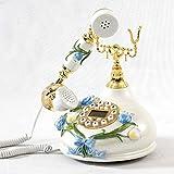 Ohne Anrufbeantworter Kreatives Art- und Weisetelefon / europäisches Art-Telefon / kreative Art- und WeiseRetro- europäische örtlich festgelegte Überlandleitung / Telefon / Tischplattenverzierungen Retro Telefon