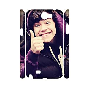 YYCASE Harry Styles Customized Hard 3D Case For Samsung Galaxy Note 2 N7100