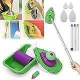 Rodillo para pintar pintura facil punto bandeja multifunción Point & pintura facil herramienta para pintar hogar herramienta multifunción y esponja set kit DIY Kit de pintura