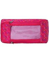 Levitas Cosmetic Pouch Smart Pink Color Multi Purpose Kit,Shaving Kit,Travelling Kit ,Shoe Kit,Make Up Kit