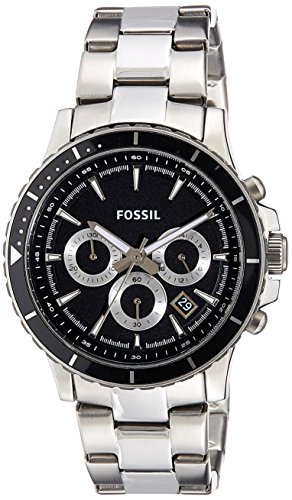 Fossil End of Season Briggs Chronograph Black Dial Men's Watch - CH2926