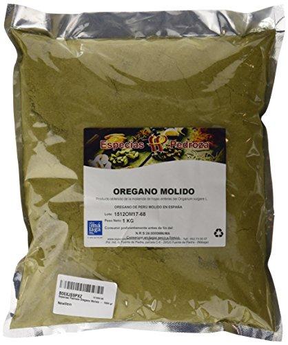 Especias Pedroza Oregano Molido - 1000 gr
