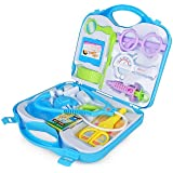 NK STAR Doctor Plastic Playset Kit with Fold able Suitcase, Compact Medical Accessories Toy Set Pretend Play Kids ( Multi-Color )