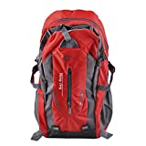 butlerday 40L Rucksack 26*12,5*49,5cm Bergsteiger Rucksack Wander Unisex (Rot)