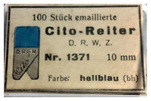 Cito- Reiter 1371, 10mm hellblau, 100 Stk. D.R.W.Z.