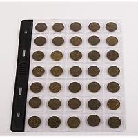 """SCHULZ 10 Blätter in der Lage zu 35 Münzen klein Größe für Münzalbum-Contabile mit: SCHULZ, OPTIMA Classic """"Leuchtturm"""" preisvergleich bei kinderzimmerdekopreise.eu"""