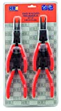 HR 170584 - Juego 4 alicates Seeger 180 mm en estuche de nylon High Resistance