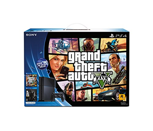 PlayStation 4 Black Friday Bundle - Grand Theft Auto V and The Last of Us Remastered (Gta V-xbox-bundle)