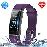 HolyHigh Smart Fitness Band,Fitness Tracker Watches for Men Women Kids Unisex Sports Activity