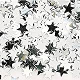 Amscan International-Polvere di stelle metallica 14 g, motivo coriandoli 9900490