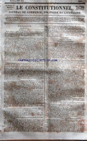 CONSTITUTIONNEL (LE) [No 221] du 09/08/1825 - ANGL...