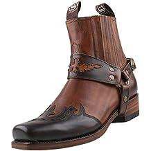 Sendra Bottes Chaussures Noires Femmes FDH85H