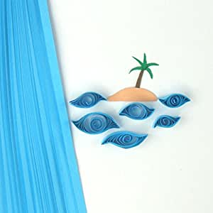 Quill On Quilling Paper, Island Blue (5mm)