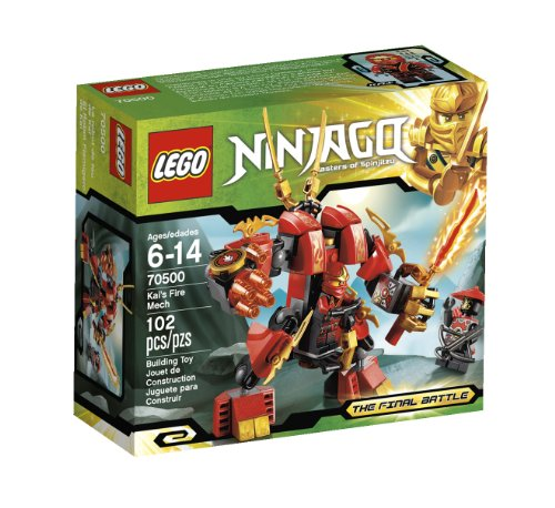 LEGO Ninjago Kais Fire Mech 70500(US Version imported by uShopMall U.S.A.)