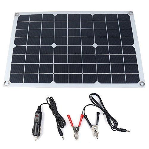 Portable Pannello auto caricabatteria solare 20W SunPower, presa accendisigari, batteria linea di carico della clip, Ventose, Batteria Maintainer per Automobile Moto