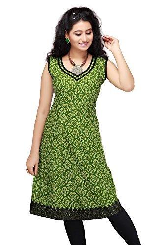 rahasya-creations-womens-cotton-stitched-kurti-bd1-sap-green-xx-large