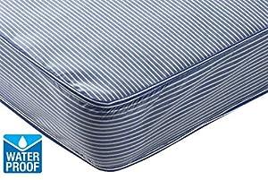 Starlight Beds Waterproof Single Mattress, 3ft Single Mattress 90cm x 190cm Pvc Mattress, suitable for cabin beds and bunk beds