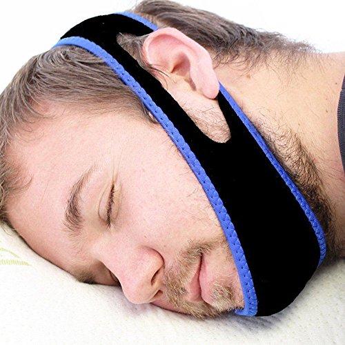 Justierbarer Anti Schnarch Kinnriemen passender Schlaf Hilfe Gurt Bester Halt Schnarchen Clip