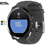 Bemodst® Armband voor Suunto Spartan Sport Wrist HR Baro, siliconen horlogeband, vervangingspolsband, accessoire, voor Suunto