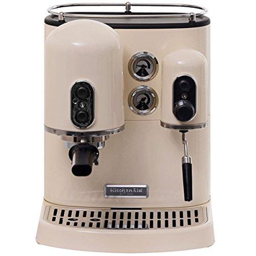 KitchenAid 5kes2102eac Machine à expresso Artisan, crème