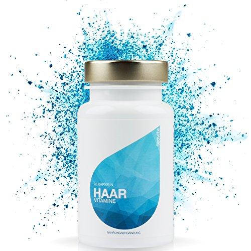 LEOVita Haar Vitamine • Biotin, Selen, Zink • optimal abgestimmte Haar-Kur • 70 Kapseln • hergestellt in Deutschland • 100% Zufriedenheitsgarantie