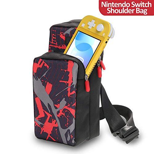 Reisetasche für Nintendo Switch Trainertasche AOPUTTRIVER Nintendo Rucksack Tragbare Reisetasche Tasche für Nintendo Switch/Switch Lite Dock, Joy-Con Grip & Switch Accessories,iphone and iPad