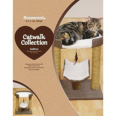 Rosewood Saffron Cat Scratcher/Post by Rosewood