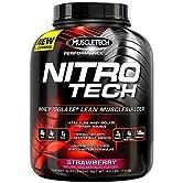 Proteine Nitro-Tech Serie performance, Fragola - 1800 grammi MuscleTech - 511nU8KOxbL. SS166