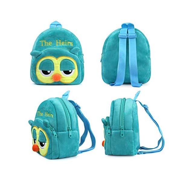 511nUQK9pSL. SS600  - Mochila para Niños, 3D Mochila Infantiles Animal Bolsas Escolares de Niños Niñas Mochila para 2-6 Años
