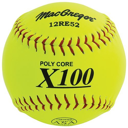 Slow Pitch Composite Softball, 12-inch - One Dozen by MacGregor ()