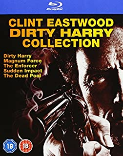 Dirty Harry 1-5 Collection Clint Eastwood Uncut Blu-ray mit deutschem Ton
