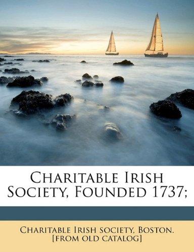 Charitable Irish society, founded 1737;