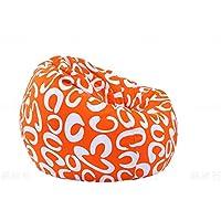MIAOLULU PUF Sofá Silla Comfort Bean Bag Lounge Chair,Color2,75 * 90CM