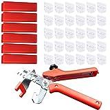 ROKOO kacheln Strumenti di installazione Set ausricht da pavimento Pinze Spacer base Tile Locator sistema di livellamento, 3